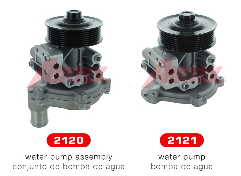 NEW WATER PUMPS 2120 AND 2121